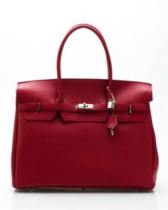 Bright Kelly Genuine Leather Big Shoulder Bag on sale now for $260.00 compare at $405.00