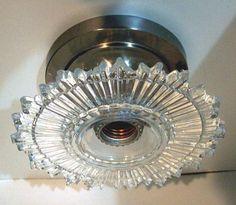 sunburst ceiling light