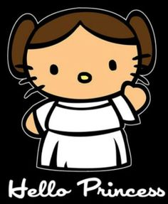 Princess Leia | hello kitty