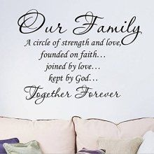 Our Family a Circle of Strength and Love Quotes and...