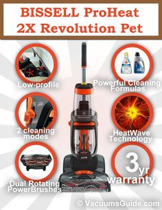 BISSELL ProHeat 2X Revolution Pet features