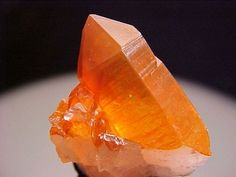 Orange for creativity and innovation - Quartz w/ Hematite inclusions - Orange River, Namibia