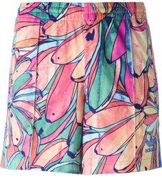 Firebird  Track Shorts In Multicolor 9834e12f226