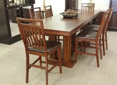 $748.00 for this long and tall dining room set.