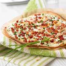 Weight Watcher Rezept Flammkuchen