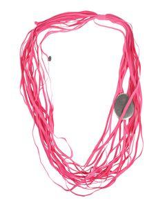 Collier Maria Calderara Femme - Colliers Maria Calderara sur YOOX - 50188057NL  MARIA CALDERARA Collier EUR 99,00 - fibres élastiques, métal