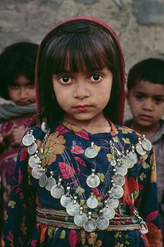 A young Kutchi girl near the Afghan border.