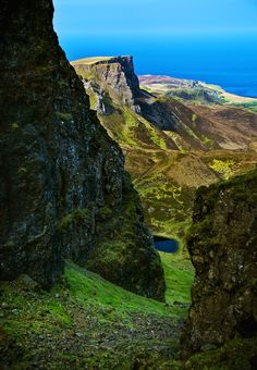 Hiking on the Isle of Skye, Scotland