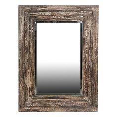 Privilege Reclaimed Wood Wall Mirror