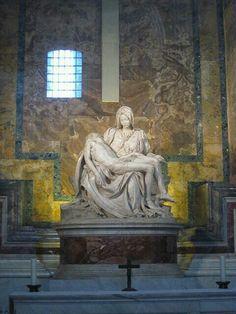 La Piedad.Miguel Angel.Vaticano.