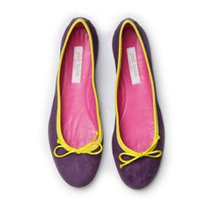 Ballerina Shoes Violet Lemon, £118, now featured on Fab.