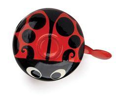 Kikkerland Design » Products » Dring Bike Bell Ladybug