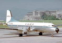 PP-SMN NAMC YS-11A VASP SDU 08.05.72. VASP operated the NAMC YS-11 from 1969. This example is arriving at Rio Santos Dumont Airport in 1972. Photo by RuthAS