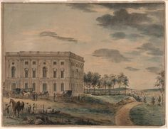 On September 18, 1793, the first cornerstone of the Capitol building is laid by George Washington.