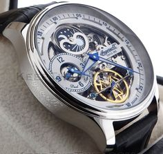 Ingersoll IN2705WH Boonville Skeleton Dial Dual Time
