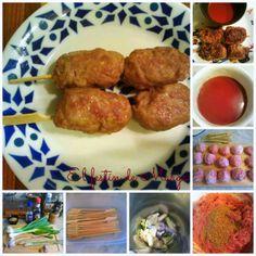 El festín de Marga: Pinchitos vietnamitas de carne (con crema de salsa...