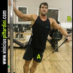 Low pulley - cable lateral raises.