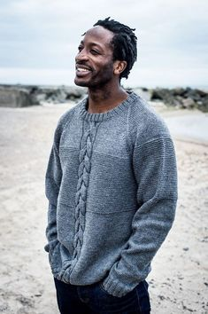 - Men& Sweater with Cable Pattern Instructions Mayflower- – Herrenpullover mit Zopfmuster Anleitungen Mayflower – Men& Sweater with Cable Pattern Instructions Mayflower - Mens Knit Sweater Pattern, Mens Cable Knit Sweater, Sweater Knitting Patterns, Men Sweater, Knitting Sweaters, Crochet Patterns, Mens Fashion Sweaters, Mens Jumpers, Pulls