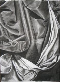 Fabric Drawing by Hillary Pickard, via Behance