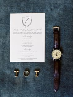 Groom's details! Love this!!