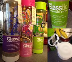 Win Your Choice of 3 Glasstic Shatterproof Glass Water Bottles #Giveaway ends 3/6/15