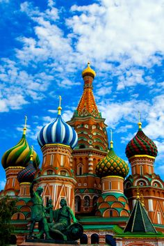 See this! Basil's Cathedral in Moscow, Russia Wonderful Places, Great Places, Places To See, Beautiful Places, Russian Architecture, Amazing Architecture, Travel Around The World, Around The Worlds, St Basils Cathedral