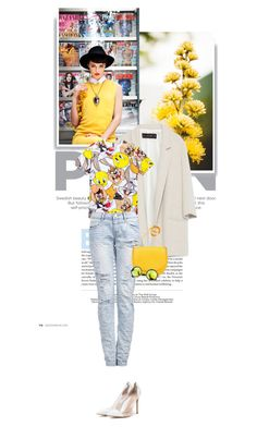 """""""663."""" by cinthyasss ❤ liked on Polyvore featuring Zara, CÉLINE and Gianvito Rossi"""