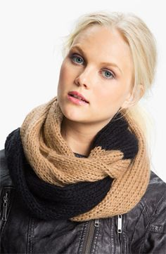 MICHAEL Michael Kors Two Tone Infinity Scarf #Nordstrom