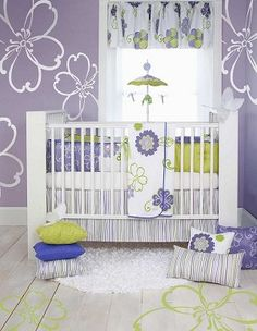 Glenna Jean Lulu 4 piece crib set