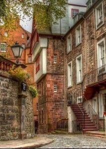 Ramsay Jardín, Edimburgo, Escocia, Reino Unido