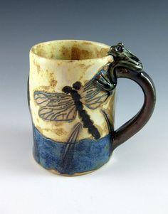 Dragonfly mug I <3 dragonflies