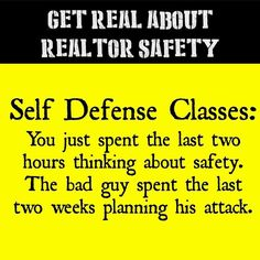Get real about Realtor safety!#realtorsafetymonth #selfdefenseclasses #realtorsafety #realtorlife #realtorlifestyle #realestateagent #realestatesales #realtormom #realestateagents #pearsonsmithrealty #firehill