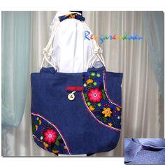 Rengarenkoku: tasarım kot çantalar