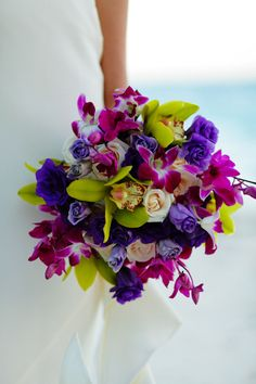 Color bouquet...