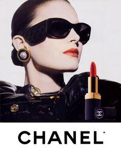 SLASH AND BURN: FASHION FLASHBACK : Vintage Chanel Ads