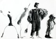 """Ugo Mulas, """"Alexander Calder, Circus"""", 1964 Fotografia di Ugo Mulas © Eredi Ugo Mulas."""