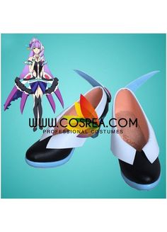 Macross Delta Mikumo Guynemer Cosplay Shoes