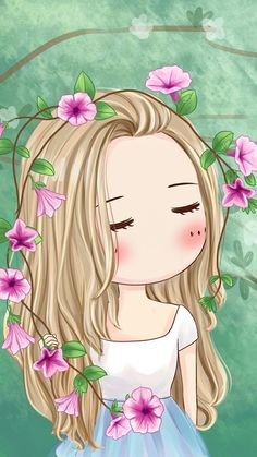 Anime chibi girl Картинки через We Heart It Kawaii Chibi, Cute Chibi, Anime Chibi, Cute Cartoon Girl, Cute Girl Wallpaper, Chibi Girl, Illustration Girl, Anime Art Girl, Cute Drawings