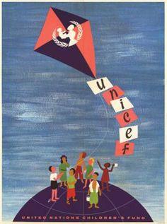 UNICEF poster circa 1963.
