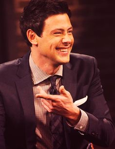 Cory Monteith/ RIP you have so many people who love you and who wish you were still here.