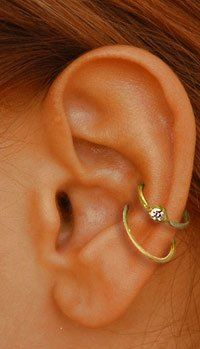 Been thinking of getting a piercing like this in my right ear...