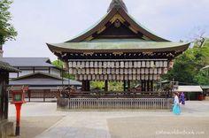 Yasaka Shrine Main Hall Kyoto