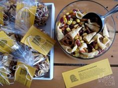 Free Thanksgiving Snack Mix Printable #247moms