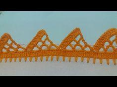 Barrado de crochê #140 - YouTube