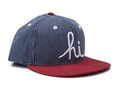 Railroad Snapback Hat by