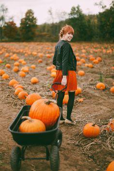 The Clothes Horse: Pumpkin Picking