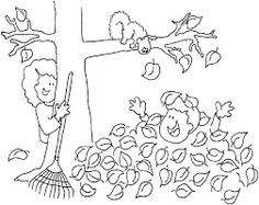 Image result for autumn colouring in sheets for kids