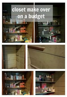 Make over your close on a budget. Check out these tips for a closet makeover on a budget for about $100. Get organized and know what you have.