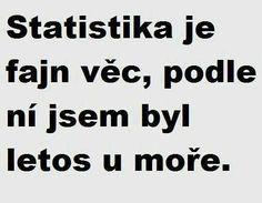 statistikk er god ting,etter den var jeg iar i syden. English Jokes, Motto, Slogan, Texts, Haha, Funny Pictures, Funny Memes, Writing, Words