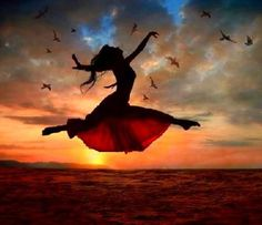 in heaven i will dance & no   one will laugh : )